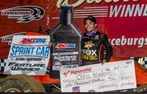 Chris Windom Victory lane pic