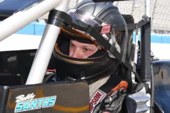SANTOS RETURNS TO FORM HEADING INTO FRIDAY'S  CARB NIGHT CLASSIC USAC SILVER CROWN RACE