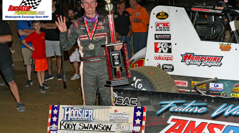 Hoosier 100 Silver Crown Indy State Fairgrounds; Jim DenHamer Photos