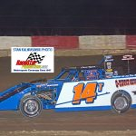 Chris Tippit (14) captured the I-Mod title at Shadyhill last year, his second consecutive track championship.