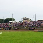 Always a massive crowd on the 4th of July at Shadyhill Speedway.