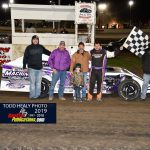Mike Chasteen Jr.  Victory Lane