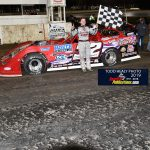Late Model winner Bobby Pierce