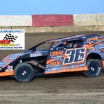 Jamie Lomax (36) was the 2018 UMP Modified track champion at Indiana's Shadyhill Speedway.