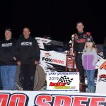 Chad Boespflug won the Kokomo Sprint Car feature Friday night