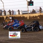 These cars look 4 wide going into turn one!