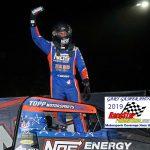 Justin Grant won the Kokomo Sprint Car feature Saturday night