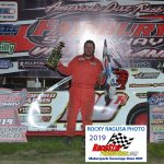 Tyler Roth took his first career win in the CR Towing Sportsman feature