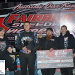 Kent Robinson led flag to flag for his first ever Fairbury Speedway Late Model win.