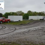 Rain washed out all racing activities in the state last Saturday. Here is a picture of the pit area from last week.