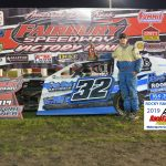 Making it two for two, Mason Duncan claimed the Hobby-Modified race.