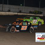 Former UMP National Champion and Track Champion, 23Jr. Joel Funk races with Cody Clubb