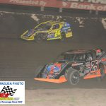 25 W Allen Weisser held off a late race bid from 24H Mike Harrison for his first ever AMS Modified Series win.