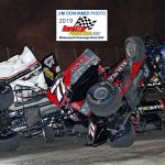 Big pile-up start of feature
