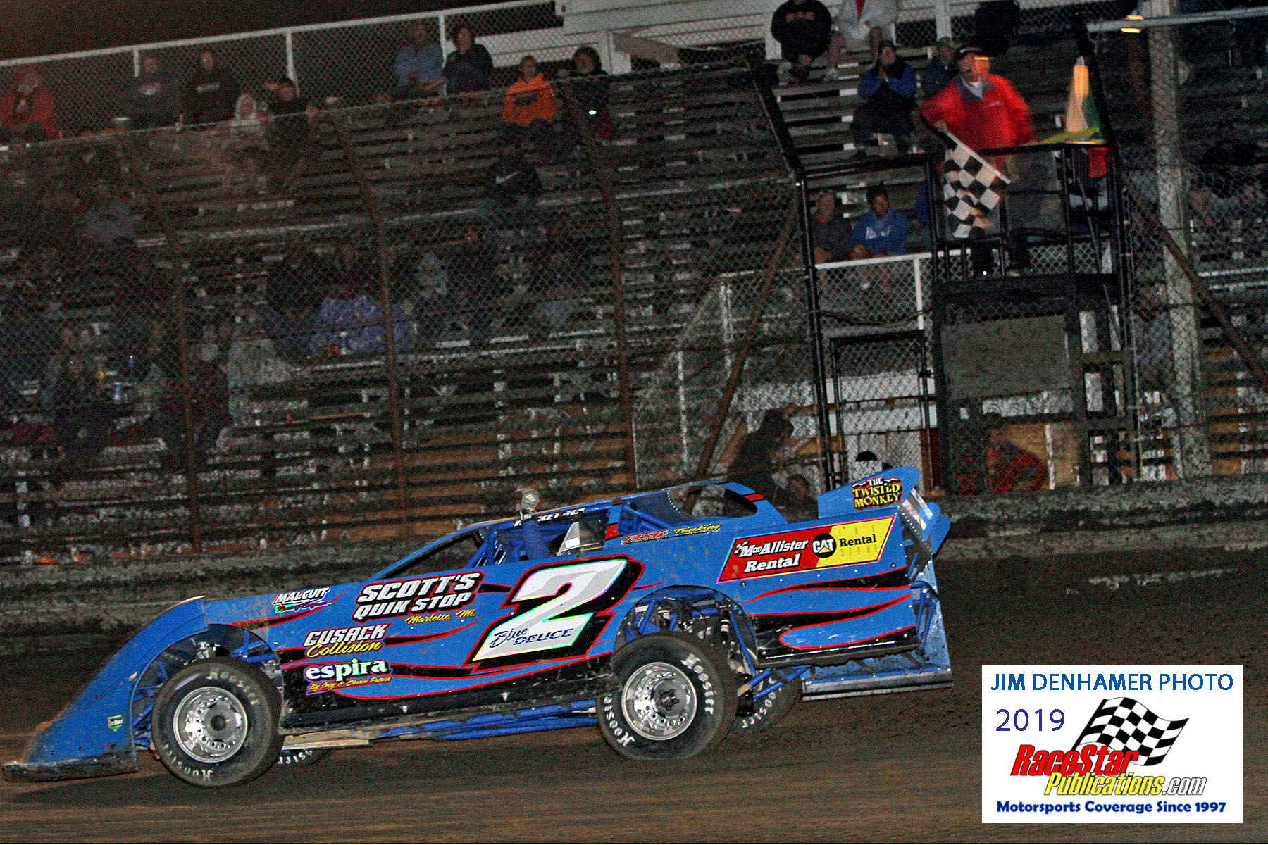 Gas City Speedway Ethanol Late Models, Modifieds; DenHamer