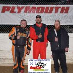 Super Streets winner Shaun Wiltjer (M) Matt Hammond (L) 2nd and Chris Tippit (R) 3rd.