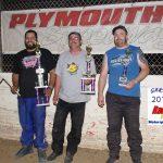 Super Sports feature finish: Joey Spiewak winner, David Short 2nd, Travis Wolford 3rd.