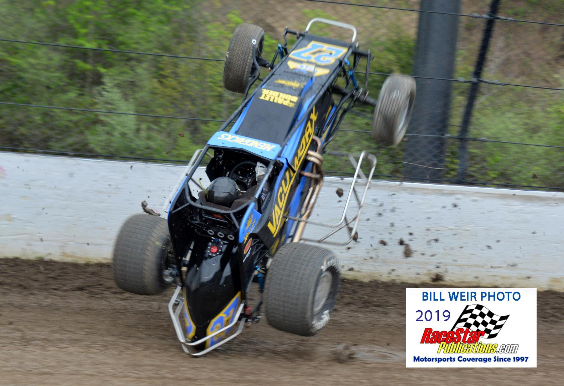 Eldora Speedway USAC/WoO; Bill Weir Photos