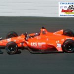 Marco Andretti (98) starts 10th Sunday.