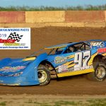 Michael Marden (97) finished sixth in the 20-lap Pro Late Models feature race at Shadyhill last Saturday night