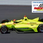 Simon Pagenaud (22) won the pole position Sunday for this year's Indianapolis 500.