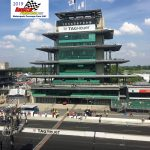 The Indianapolis Motor Speedway's Control Tower was basked in sunshine on Saturday.