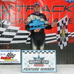 Austin Nason won the ARCA Father's Day 100 at the Milwaukee Mile Sunday afternoon.