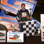 Chad Blonde won the Sprints on Dirt (SOD) feature Friday night 6.14.19 at Gas City I-69 Speedway.