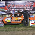 Matt Ramer turned up the wick in picking up his first ever feature win at Fairbury in the Vintage Racing of Illinois Series race.