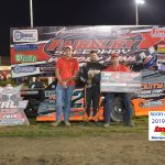 Allen Weisser claimed his third straight win in the Modified class.
