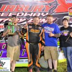 Leading all 15 laps, Matt Hammond recorded his first ever Fairbury feature win in the 15 lap Street Stock race.