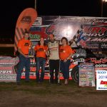 Tommy Duncan made it four straight Sportsman division