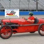 A vintage 1920s race car.