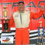 Ron Weyer came home the winner of the Mid American Stock Car Series 20-lap main event.