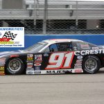 Ty Majeski (91) was fast during the first part of the 100 lapper.