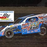 Will Krup (19) finished second in the modified 25 lapper.