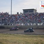 A SRO crowd defied the weather forecast to attend the triple sprint series show.  The crowd was equal to or greater than any All Star show in previous years as Shane Helms added a 4th grandstand to increase seating.