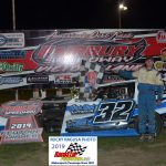 Smooth as Silk, Mason Duncan dominated the 12 lap Hobby-Modified feature.