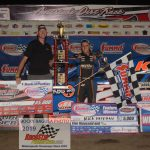 Nick Hoffman, winner of the Summit Modified Nationals finale