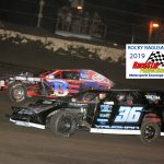 B Chris Burton overtook Macy Vaughan in the late stages for second