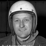 Ray Young was a two-time stock car champion at Blue Island's Raceway Park.  (Bud Norman Photo)