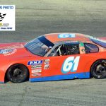 Veteran racer Jerry Eckhardt (#61) competed in the limited late model main event.  Eckhardt is one of a handful of drivers still competing that raced during the days of legends Dick Trickle, Joe Shear and Larry Detjens.