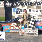 Tyler Schley was the winner of the limited late model feature race.