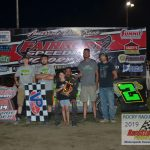 Making a rare Fairbury appearance, Jim Ransom took his first ever Fairbury win in the Street Stock class.