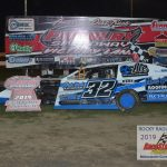 Third generation wheelman, Mason Duncan dominated the Hobby-Modified race and took his seventh win.