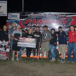 Allen Weisser captured the Modified point championship and led flag to flag for the feature win.