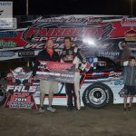 Tim Manville earned his first ever Fairbury Late Model win.