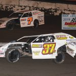 Father and son 7L Jay Ledford racing with his 14 year old son Michael