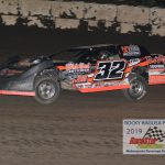 Tommy Duncan sped to the win in the Sportsman race and looks to wrap up a track championship.