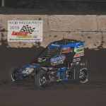 Zeb Wise pulled away from his competition in the closing laps to earn his second career POWRi Midget feature win.